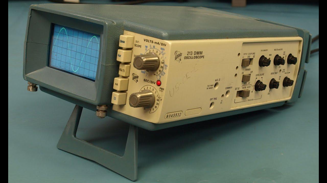 Vintage Tektronix Oscilloscopes : Eev tektronix vintage portable oscilloscope