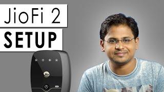 How to Setup JioFi 2 4G Wireless Hotspot?
