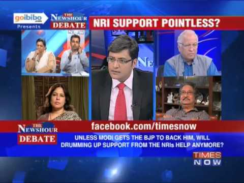 The Newshour Debate: Will Narendra Modi stand up without BJP backing? (Part 2 of 2)