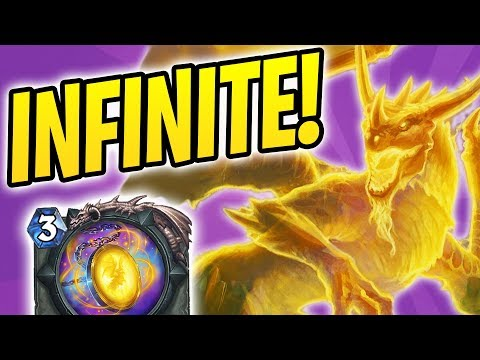 DRAGON SOUL FOR INFINITE DRAGONS | No Win Condition Priest | The Witchwood | Hearthstone
