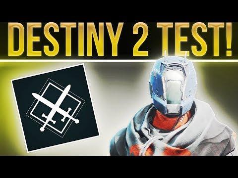 This a Destiny 2 Test.