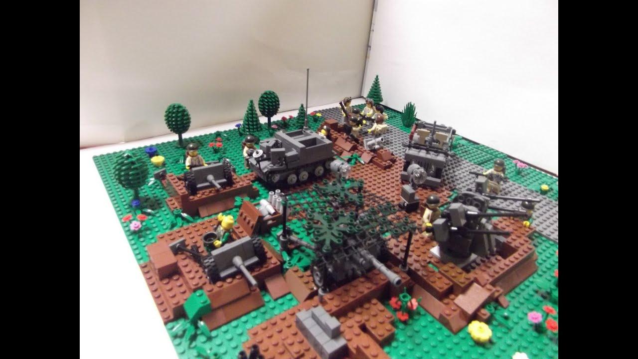Поделки из лего военные базы