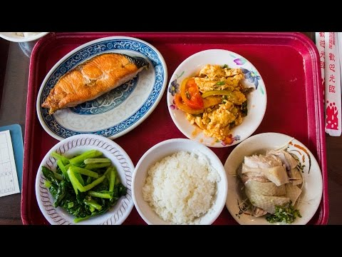 Taiwanese Food Buffet and Baoan Temple (Taiwan Day 3)