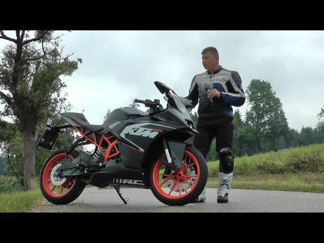 Vid�o Essai KTM RC 125 : La Superbike des permis A1 !