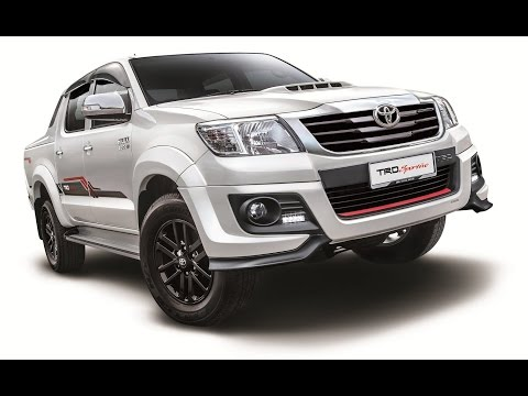 The New 2015 Toyota Hilux TRD Sportivo Walk Around Interior Exterior
