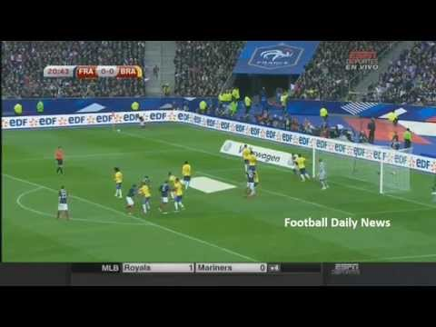 France vs Brazil  2015 FULL MATCH 26/03/2015