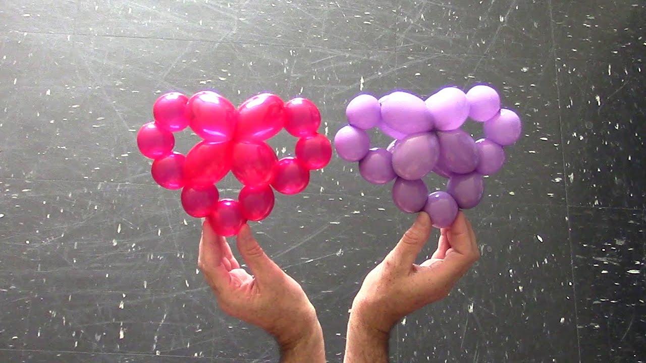 Как сделать с шариками сердечко 782