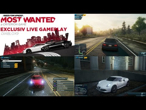 Gameplay live exclusif - Need for Speed : Most Wanted - Version finale