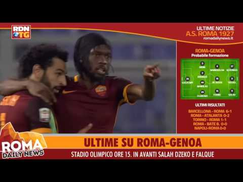 AS Roma-Genoa News - 20 Dicembre 2015