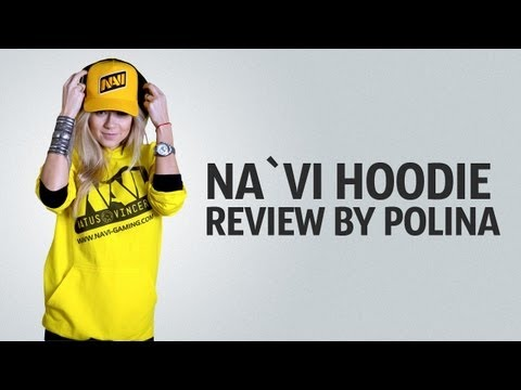 Na`Vi hoodie review by Polina (with English subtitles)