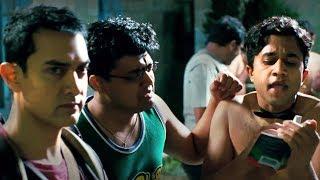 पैंट उतारिये... नहीं तो ये आप पे मूत्र विसर्जन करेंगे - Aamir Khan - 3 इडियट्स Comedy