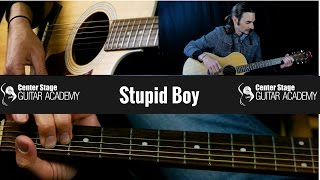Keith Urban Video - Stupid Boy by Keith Urban guitar lesson