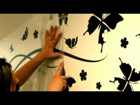 wall decals ambiance-live - how to apply a sticker with transfer