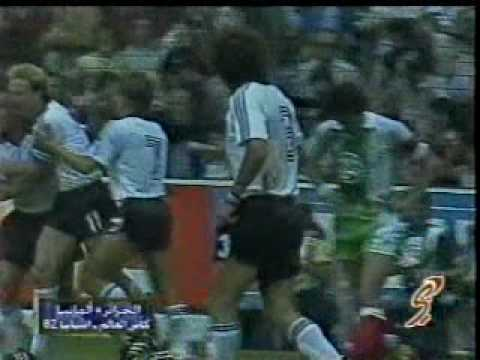 Rummenigge v Algeria 1982
