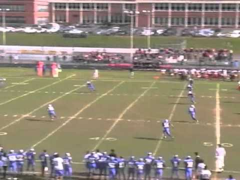 Diamo Streaser Junior #13 Football Kicking Highlight Tape Glen Rock High School, NJ