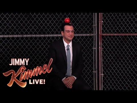 Clayton Kershaw Throws A Baseball At Jimmy Kimmel's Head