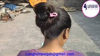 LHPB Rapunzel Veronika Sensational Hair Stick Bun Play With Healthy Hair