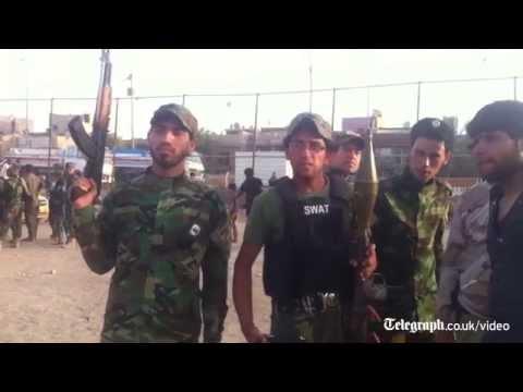 Iraq Shia militias mobilise in face of threat from Sunni-led jihadists