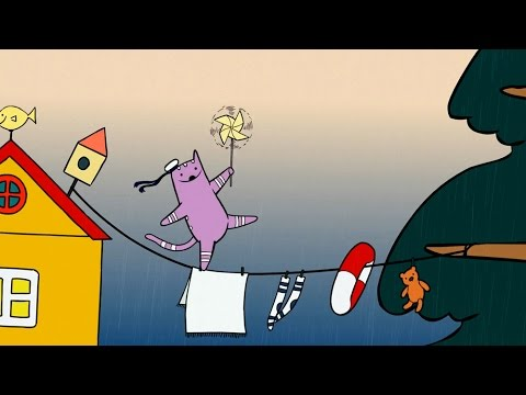 Короткометражные мультфильмы - Как живут котики