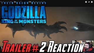 Godzilla: King of Monsters Trailer #2 - Angry Reaction!