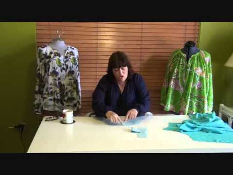 HotPatterns brings you a Peasant Blouse Tutorial