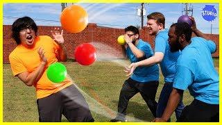 Crazy dodgeball ..