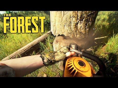 THE FOREST - СТРОЮ ПЕРВУЮ БАЗУ!!