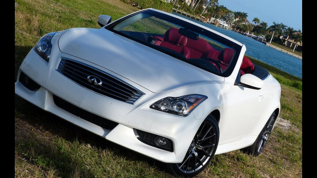 2013 Infiniti IPL G convertible 0-60 MPH Drive and review ...