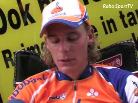 Lars Boom wint NK tijdrijden