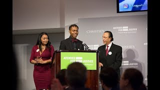 2018 Second Chance Award Winner Maliek Jones' Acceptance Speech
