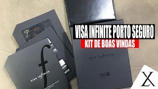 Kit de Boas Vindas Porto Seguro Visa Infinite - Cartão de Crédito Porto Seguro - Pimenta Linda