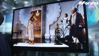 CES 2012 - Samsung Series 6 Plasma HDTV launched