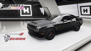 Forza Horizon 4: Dodge Demon How to Unlock + Gameplay