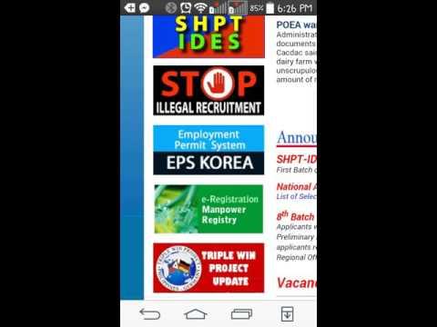 Paano mag-aply as factory worker sa South Korea?