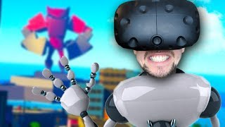 DESTROY EVERYTHING | VRobot (HTC Vive Virtual Reality)