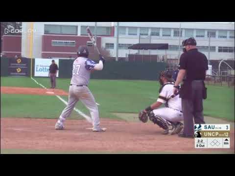 Dylan Radford Pitching UNC Pembroke v St. Augustine's
