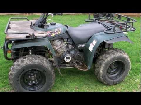 Latest Project 1997 Yamaha Big Bear 350 Part 1