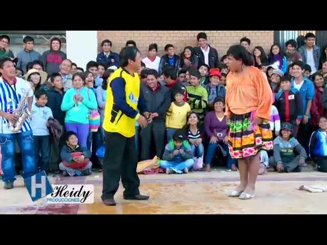 Cómicos del centro 2014 / 4 de 6 -  Mix Yarita Lizeth Rosario Flores - Wankas y huanacos de la risa