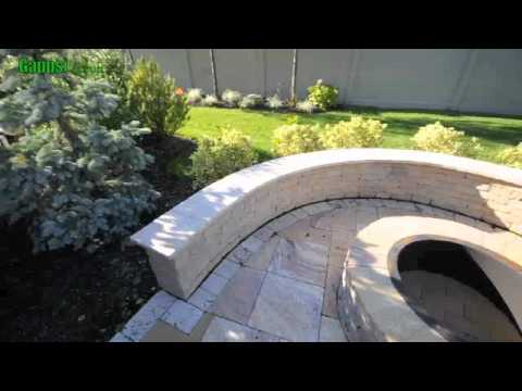 Natural Travertine-French pattern-coping-swimming pool. landscaping. construction long island gappsi