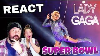 REAGINDO: LADY GAGA - SUPER BOWL 2017 (REACT)