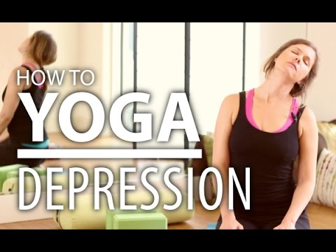 Yoga For Depression - 30 Minute Energizing Yoga Flow. Heart Opening