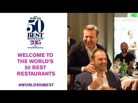 Welcome to The World's 50 Best Restaurants 2015!