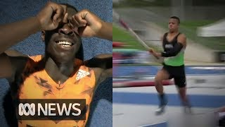 Two of Australia's best athletics prospects may not compete for Australia | ABC News