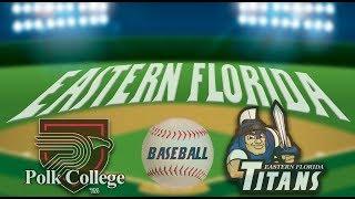 EFSC Baseball vs. Polk State College