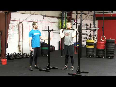 CrossFit Shoulder Press - Northstate CrossFit Image 1