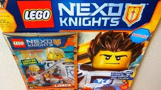2016 Lego Nexo Knights Limited Edition Set Lance Richmond Rare Opening
