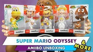Unboxing The Super Mario Odyssey Amiibo + More!