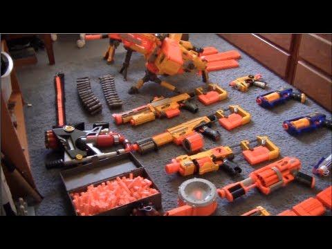 Nerf Gun Arsenal My Nerf Arsenal - YouT...