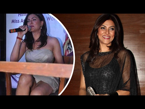 Sushmita Sen's Shocking Wardrobe Malfunction video