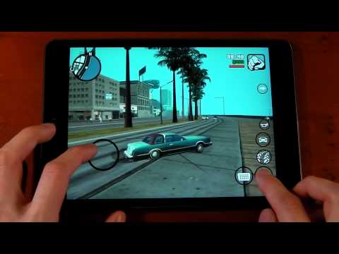 Apple iPad Mini 2 ( Retina ) - GTA: San Andreas - Review